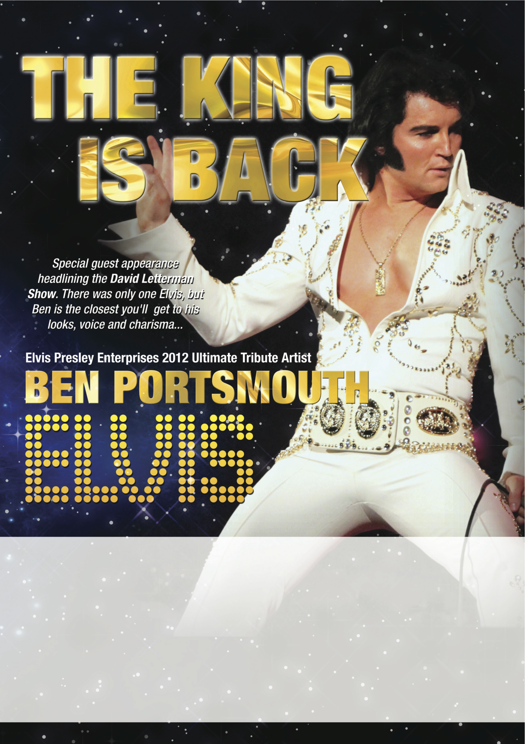 The King Is Back – Ben Portsmouth