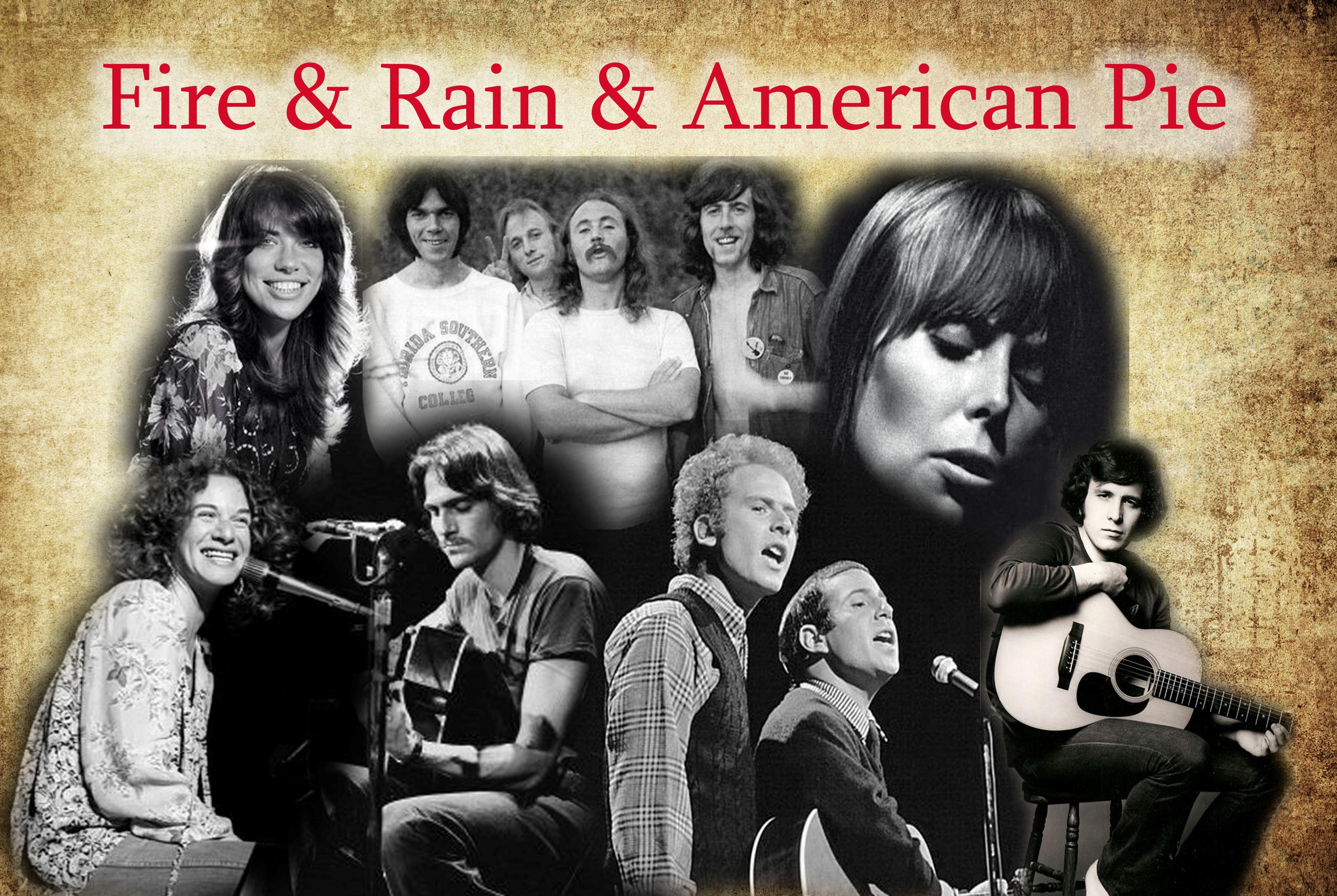 Fire and Rain & American Pie